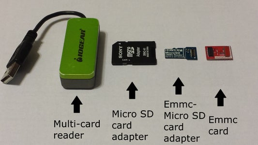 Setting Up the Operating Systems (Preparing the Micro SD/eMMC Cards)