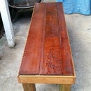 Upcycled Wood Bench