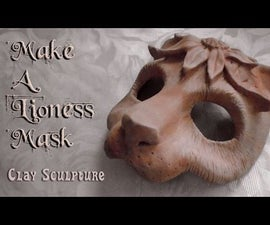 Make a Lioness Mask