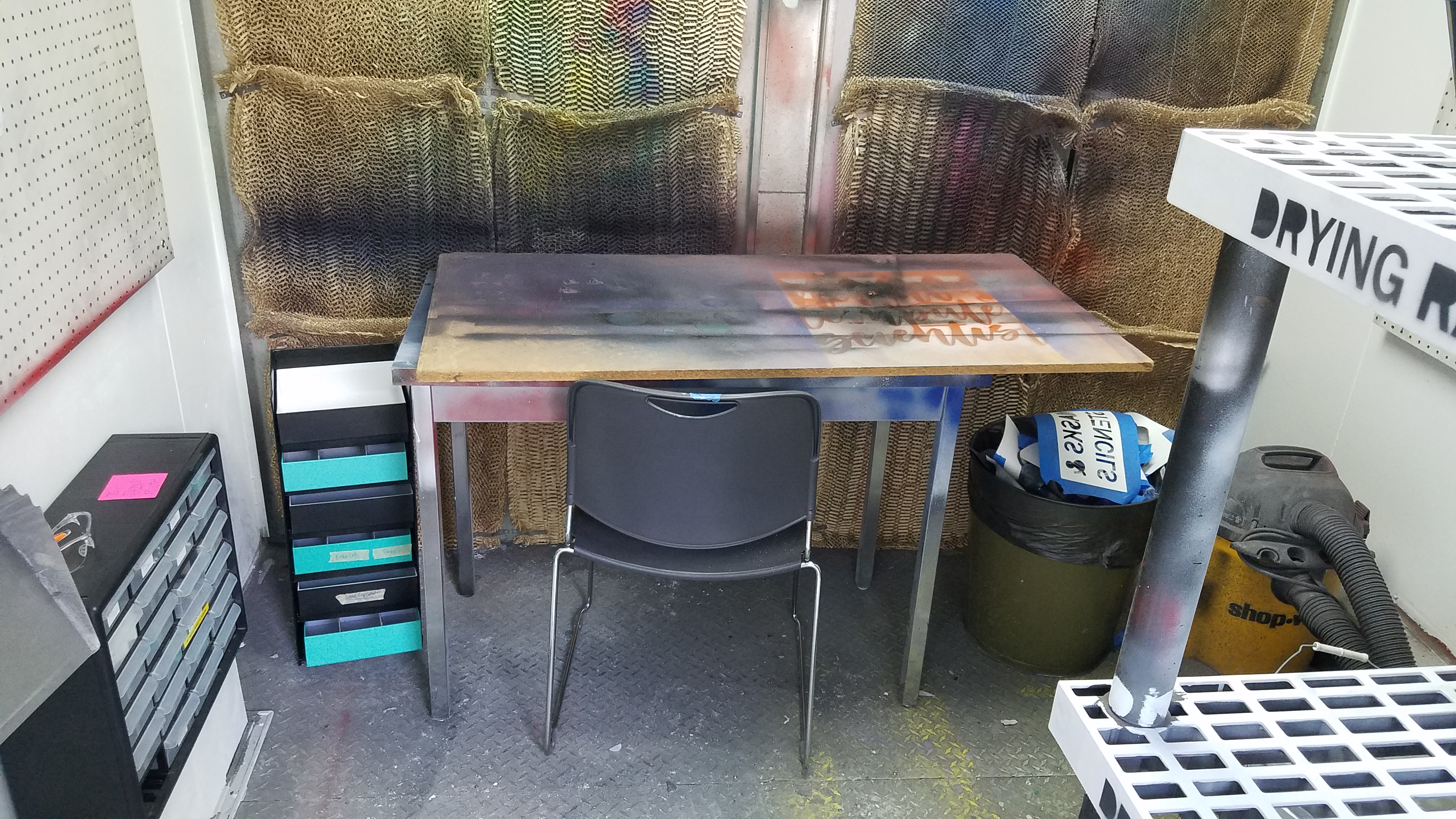 Picture of Renovate a Community Paint Booth