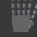 3D Printed Prosthetic hand(work in progress)