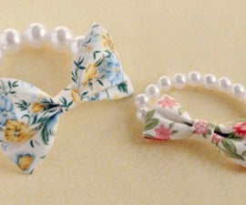 Mother s day jewelry gifts- bow bracelet DIY