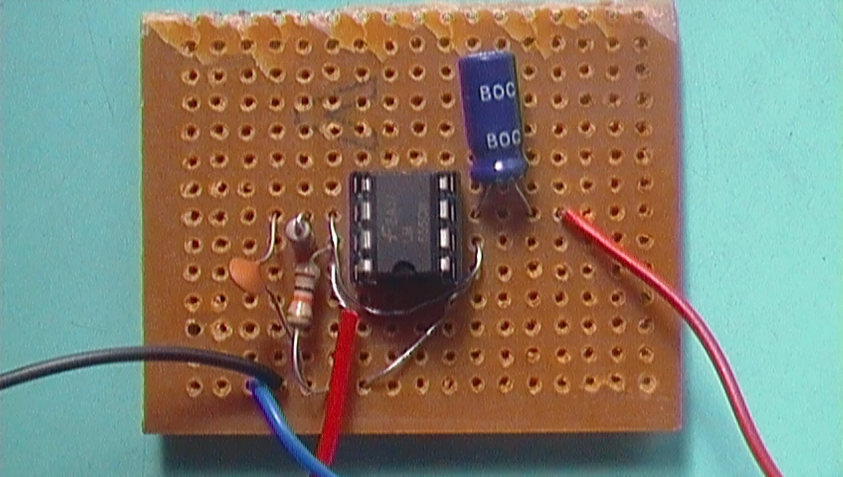 555 Crriter Repellent 5 Steps With Pictures Dog Repeller Circuit You Can Find One On This Ultrasonic