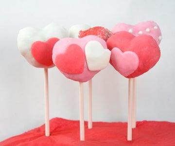 Valentine's Cake Pops