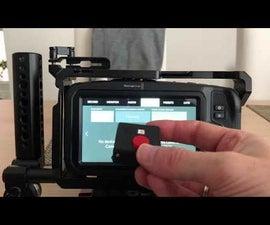 Magic Button 4k: the 20USD BMPCC4k Wireless Remote Control