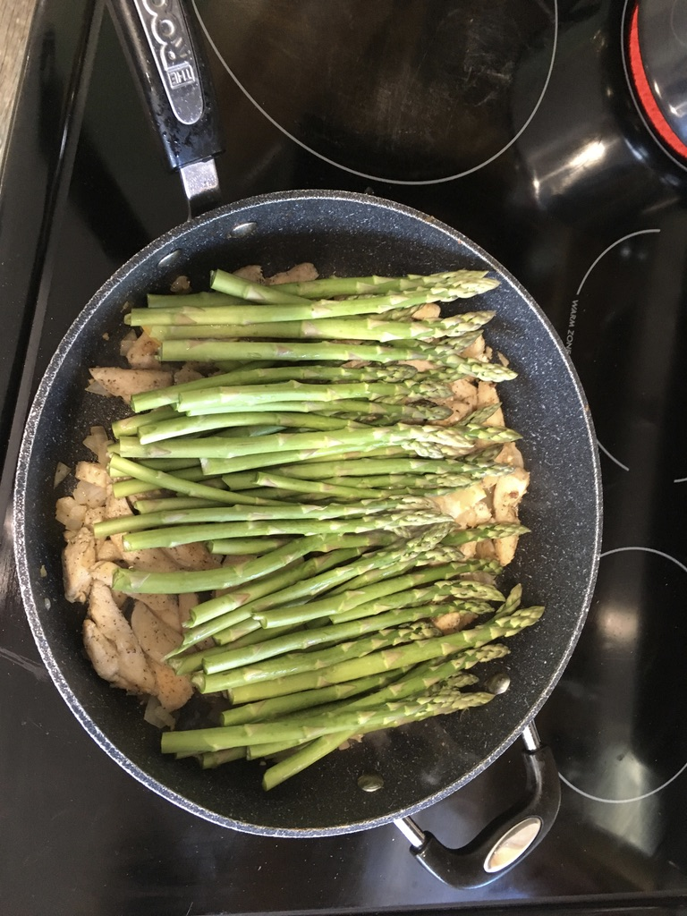 Picture of Preparing and Cooking the Asparagus