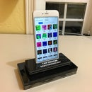 IPhone 6,7, or 8 Plus Kiosk Stand - Laser Cut