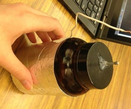 Salt Water Leyden Jar
