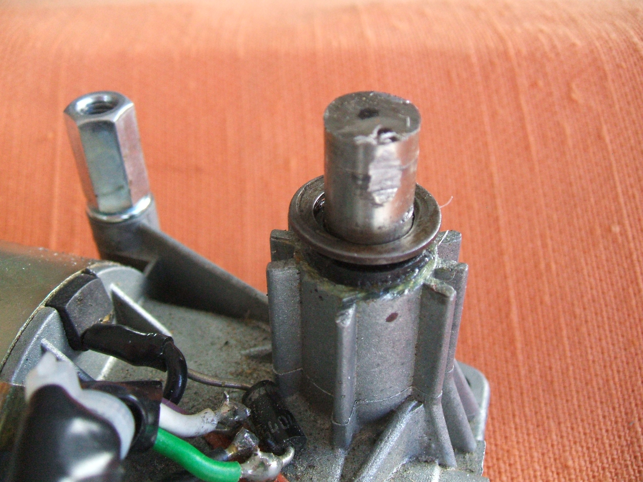 Picture of Modify the Motor Drive Shaft