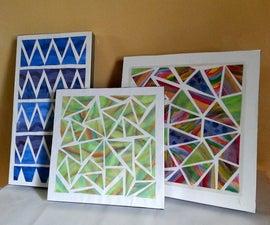 Chromatic-Geometric Wall Art