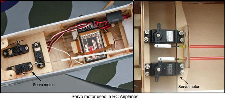 Beginners guide to connecting your rc plane electronic parts 11 steps picture of servos asfbconference2016 Images