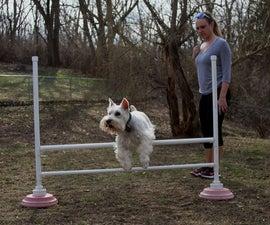 Portable Dog Agility Bar Jump
