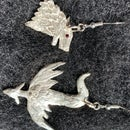 Game of Thrones Silver Earrings