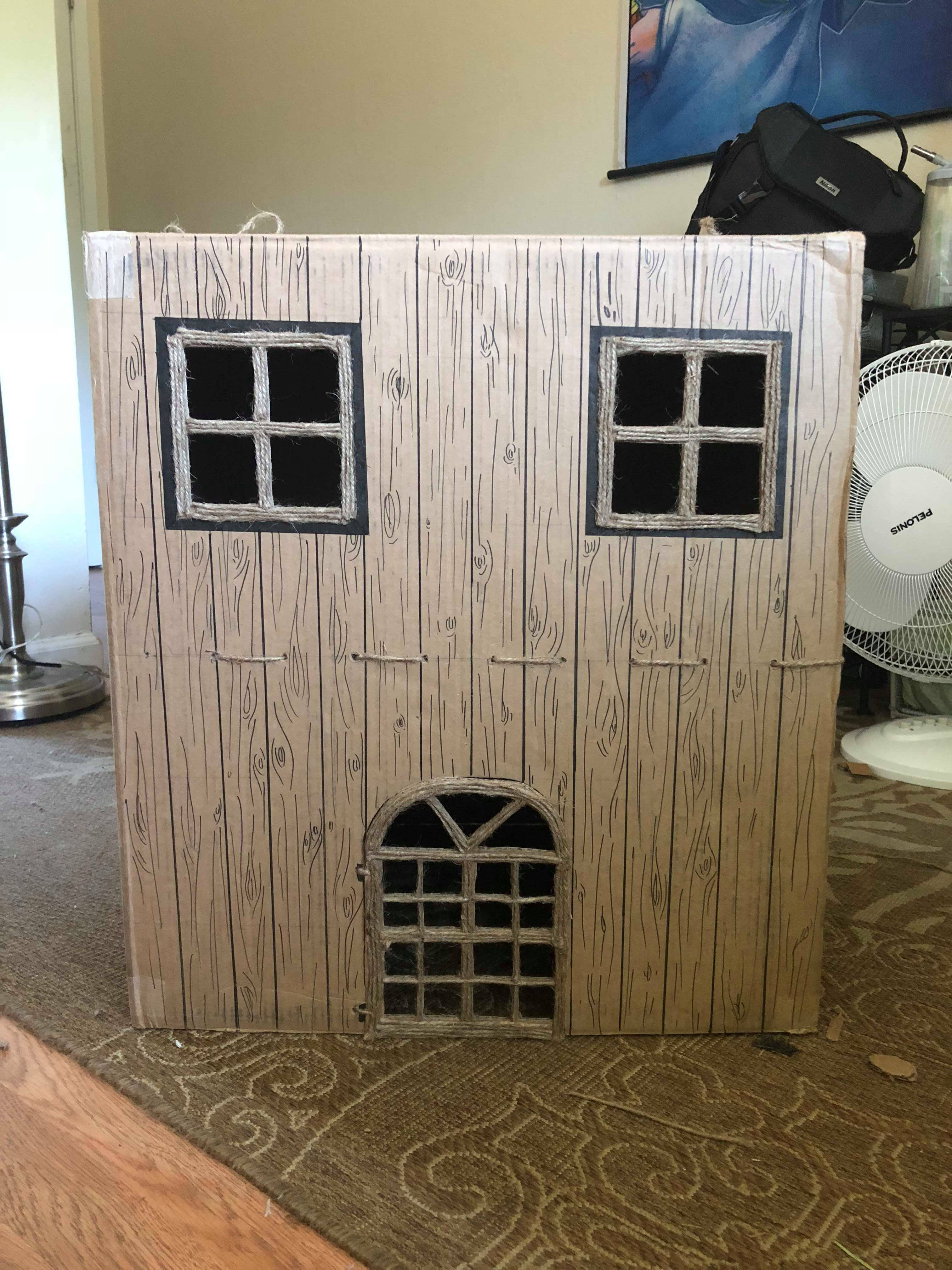 Picture of Cardboard Bunny House