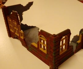 Warhammer Like 3d Print a Building / Obstacle / Scenery for Mini Figure Games