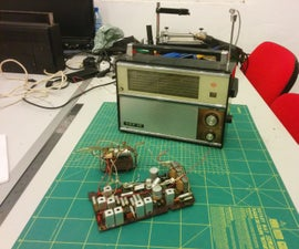 Bluetooth VEF 12 (1969) Radio