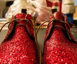 Sparkly Desert Boots (Chukka)