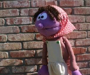Purple Pioneer Puppet