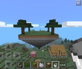 Mincraft PE Floating Island