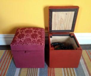 Pouf / Ottoman With Storage