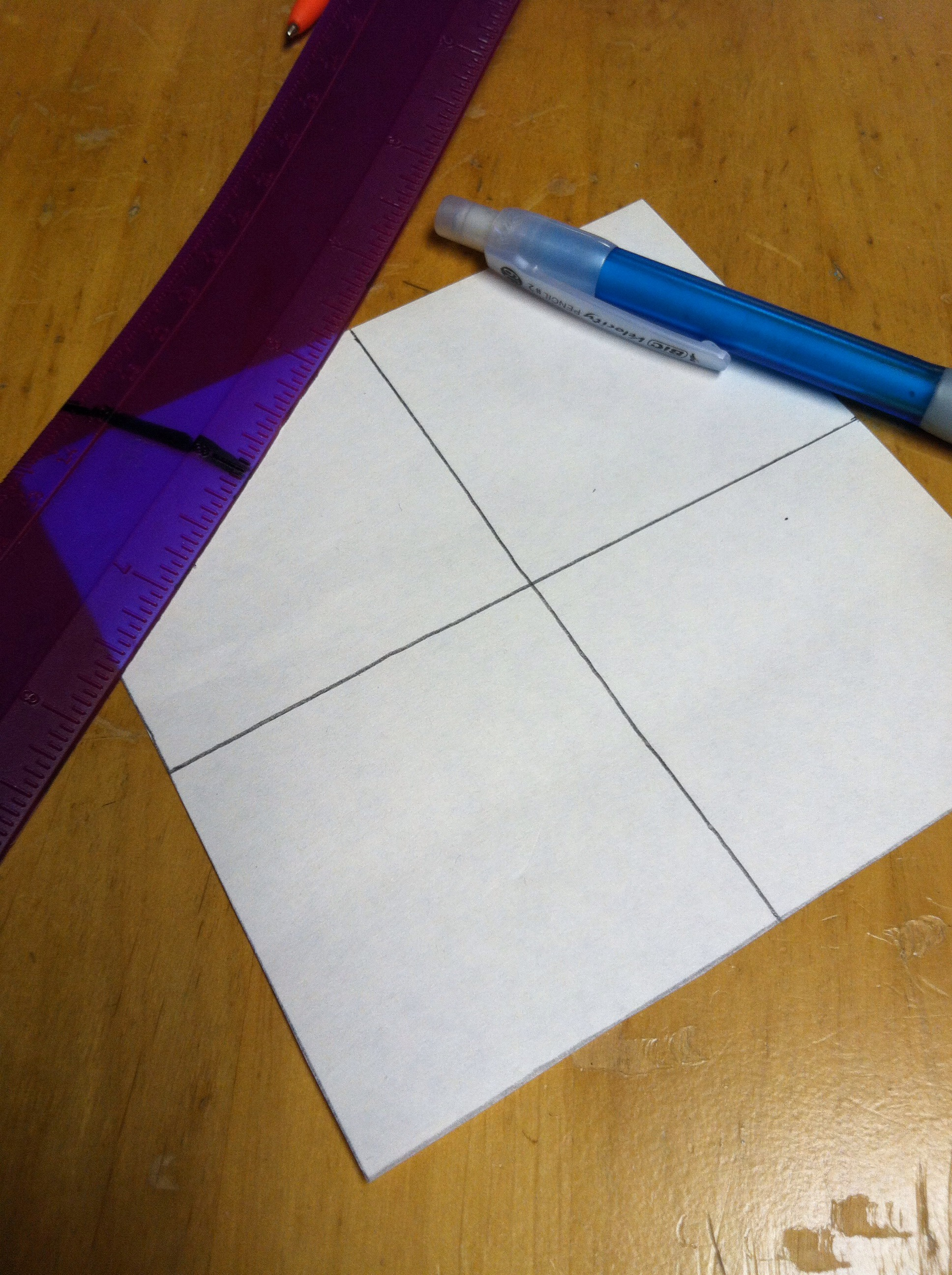 Picture of Make Four Squares