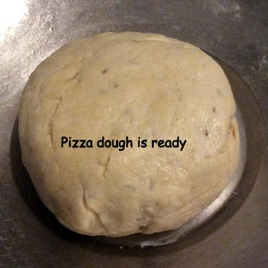 Make the No Yeast Pizza Dough