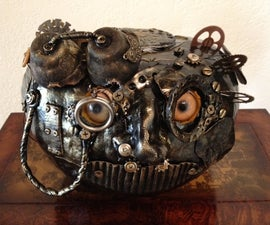 Make a steampunk pumpkin.  A SteamPunkin.