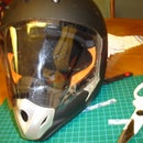 Create a Simple Visor for your Otherwise Visorless Full-face Helmets