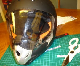 Create a Simple Visor for your Otherwise Visorless Full-face Helmets
