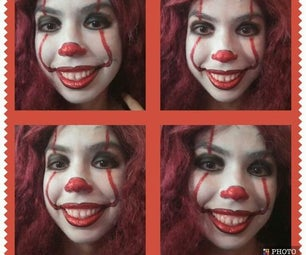 Pennywise Face Paint (Stephen King's IT)