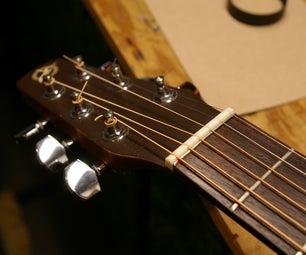 Zero Glide Nut Replacement (Zero Fret Installation) for Guitar