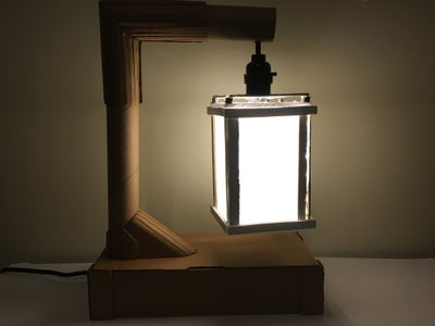 Lamp From Recycled Materials