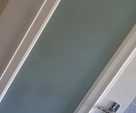 Fit Glass Panel to Hollow Core Door