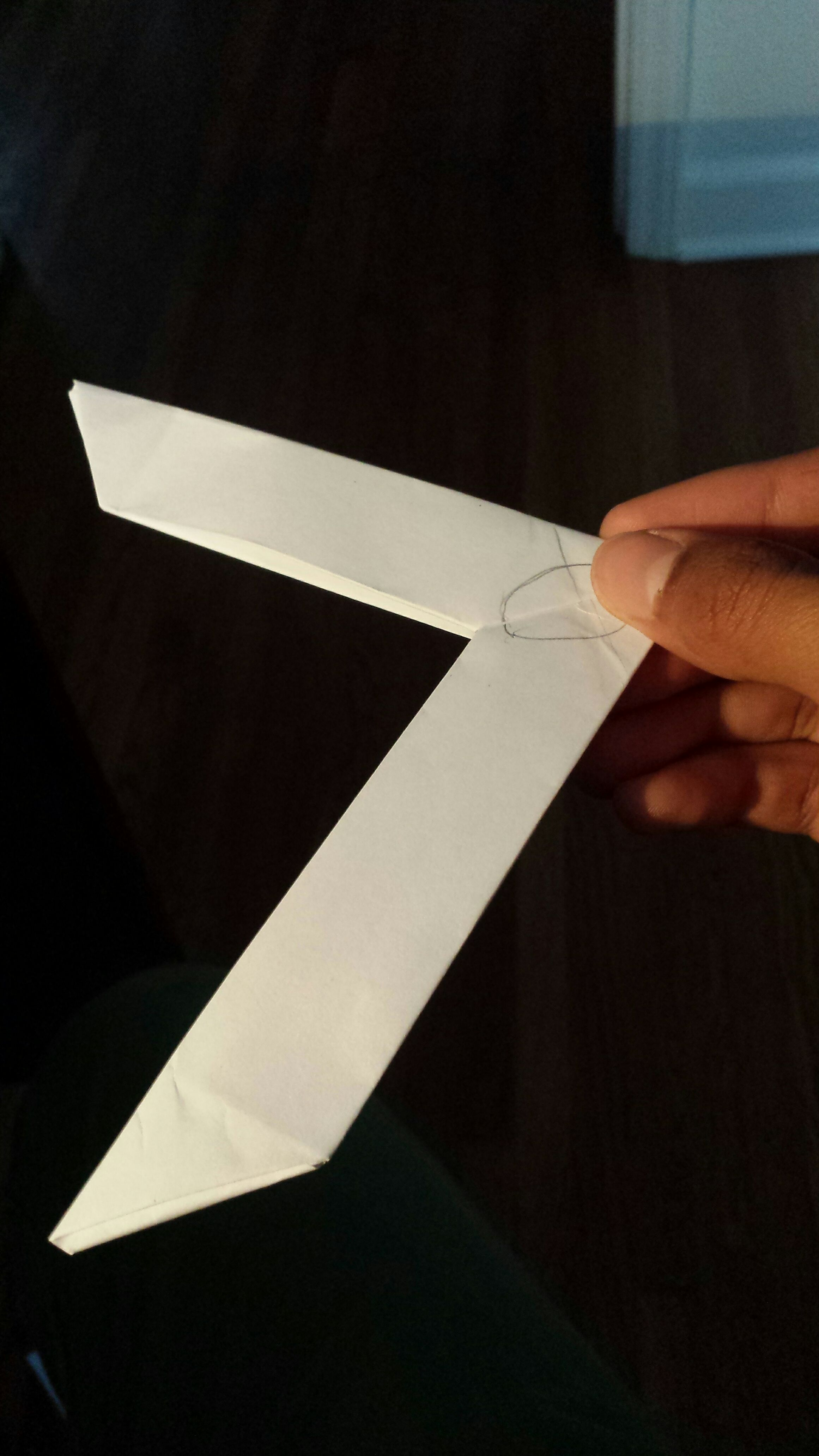 Picture of Working Paper Boomerang Without Tape!
