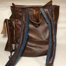Leather Rucksack - From Leather Couch
