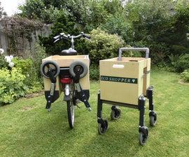 Bike-Portable Shopping Cart