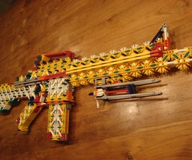 my new knex m4 carbine