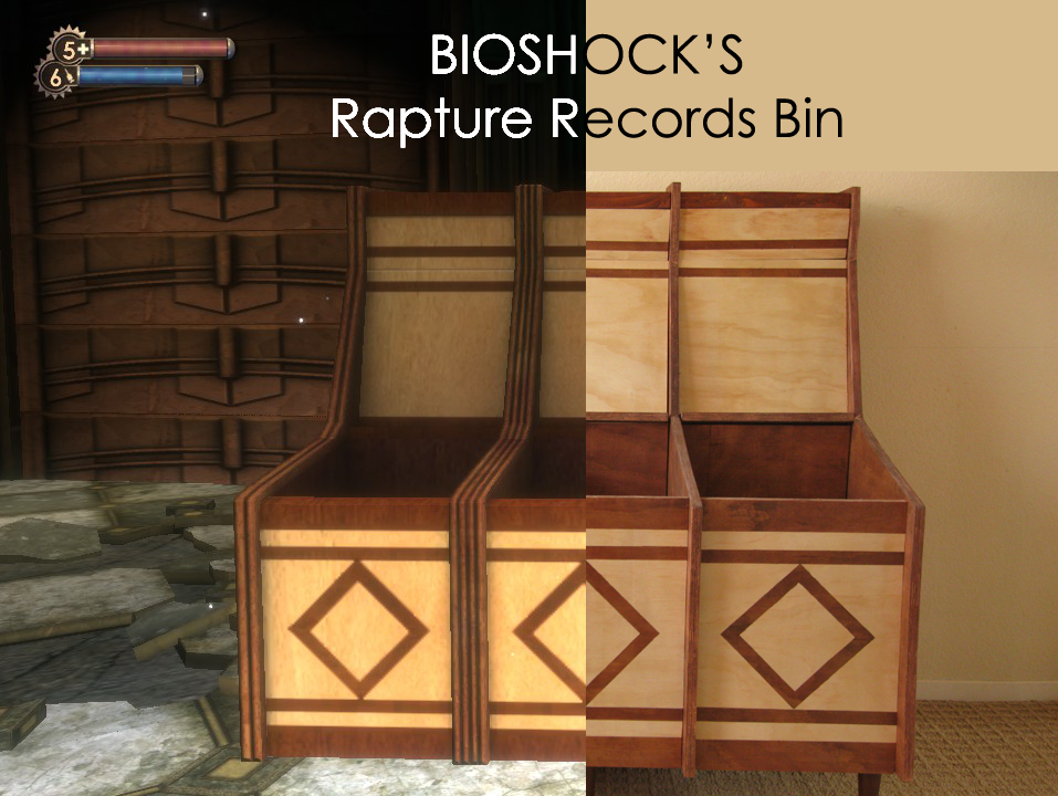 Picture of Bioshock's Rapture Records Bin
