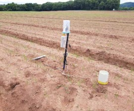 Agricultural Field Crop Irrigation Monitor