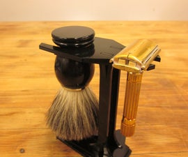 Laser Cut Shave Stand