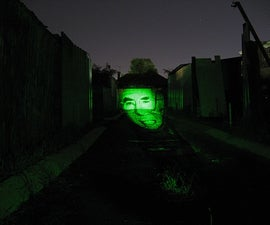 Laser Image Projector