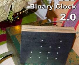 LED Binary Clock 2.0
