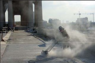 Picture of Concrete Dust Safety