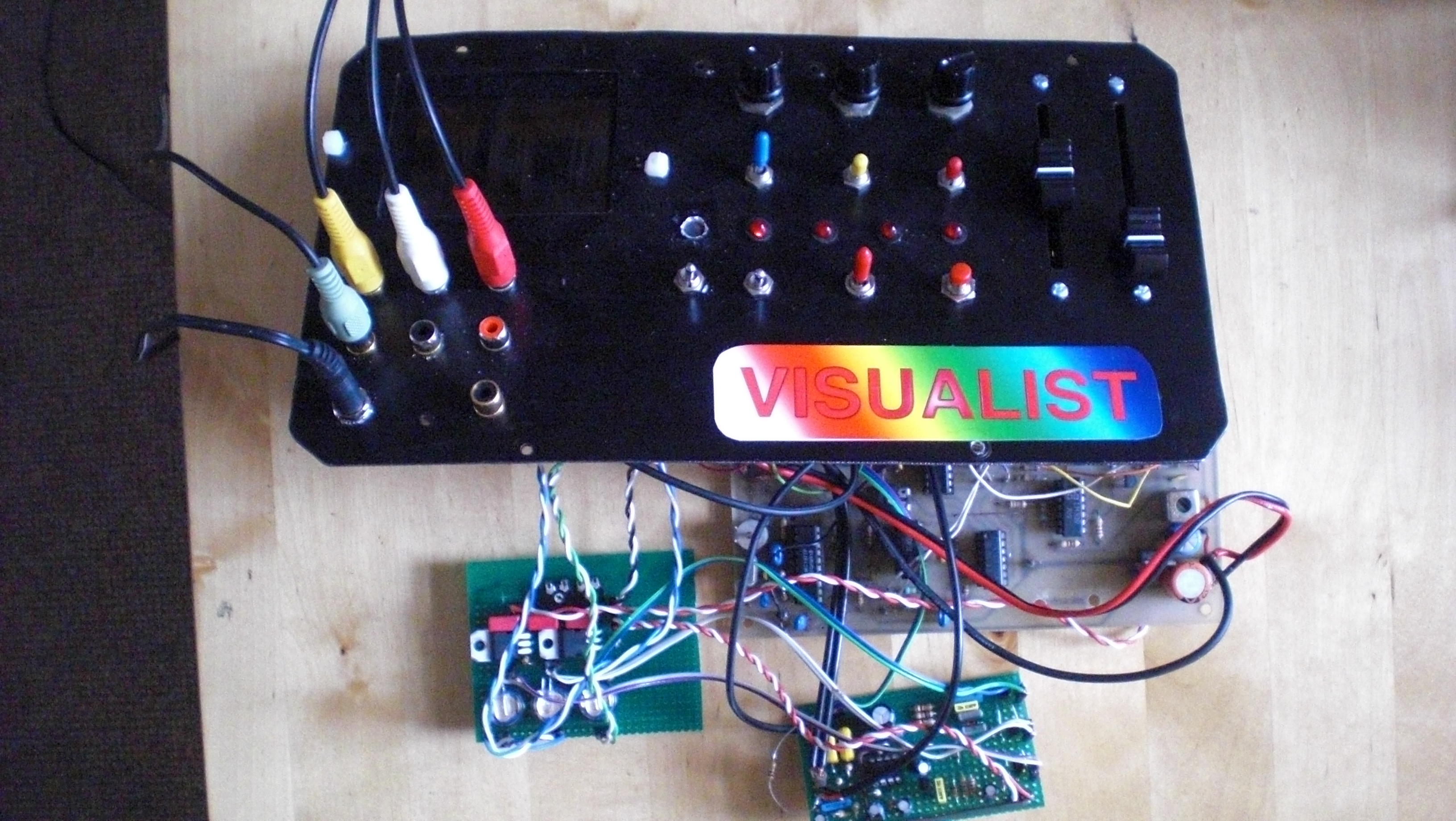 Picture of Lay-out of the Controllerbox
