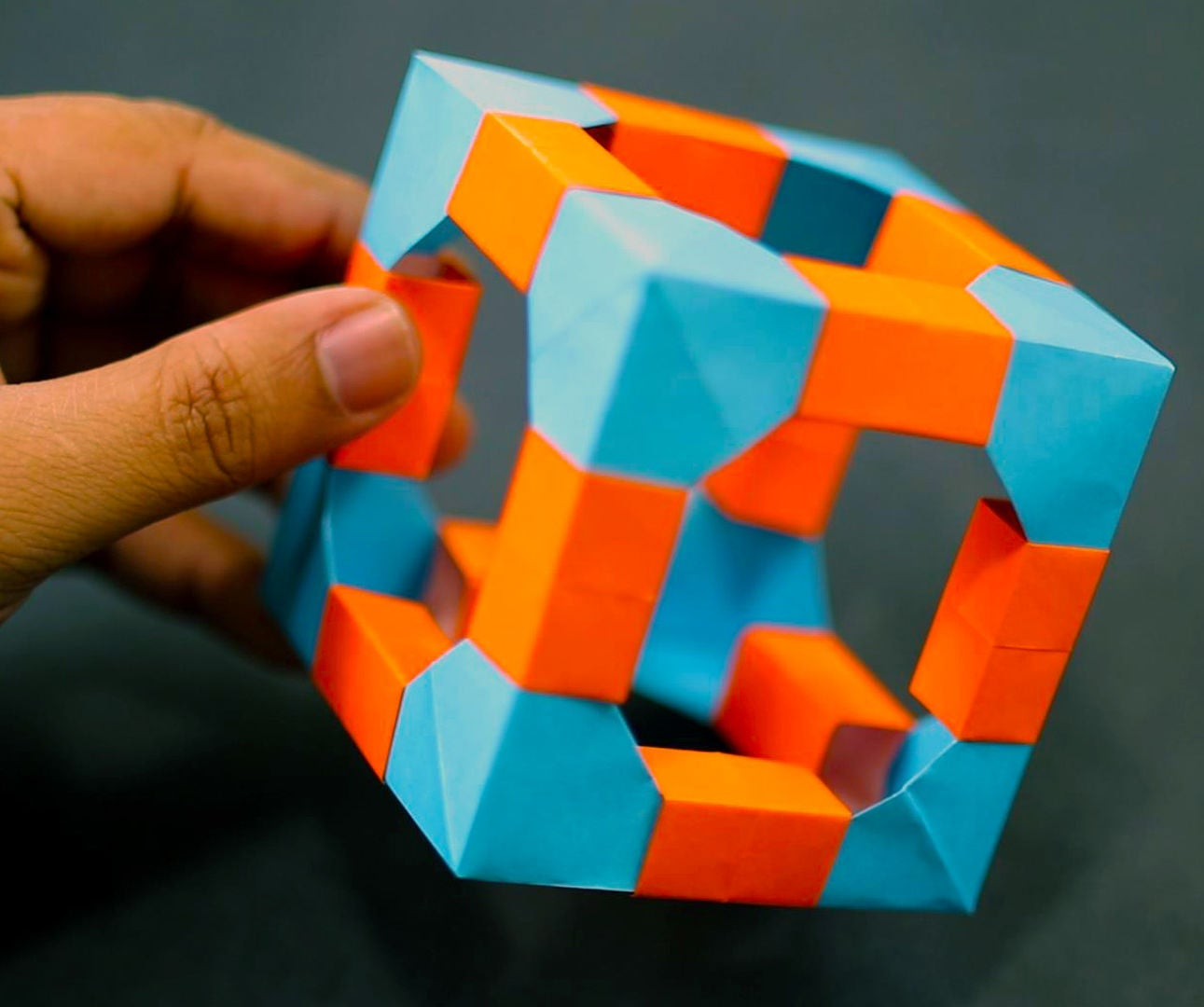 Cool Origami Post-It Model - YouTube | 1080x1291