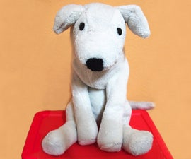Puppy Plush from an old Bath Robe