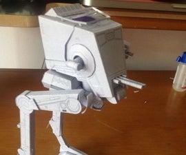 Star Wars pepakura AT-ST