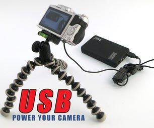 Power Your Camera With USB