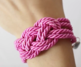 Friendship Bracelet - Nautical Knot