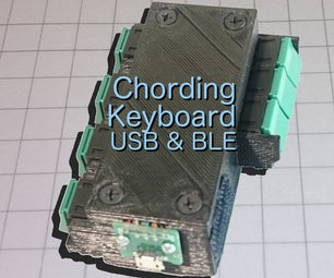 Chording Keyboard BLE and USB